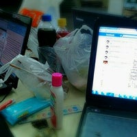 Photo taken at Post office Silpakorn by Aye S. on 7/1/2012