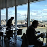 Photo taken at Restaurant - Tate Modern by Ed S. on 4/6/2012