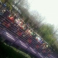 Photo taken at Apollo's Chariot - Busch Gardens by Sam M. on 3/17/2012