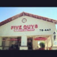 Photo taken at Five Guys by Scott M. on 8/27/2012