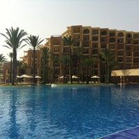 Photo taken at Mövenpick Resort & Marine Spa Sousse by Виктория Х. on 8/6/2012