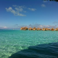 Photo taken at Le Taha'a Private Island And Resort Spa by Luis M. on 7/31/2012