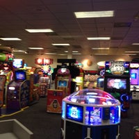 Photo taken at Chuck E. Cheese's by Caroline G. on 5/4/2012