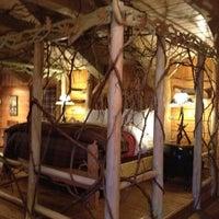 Photo taken at Lake Placid Lodge by Maria P. on 3/29/2012