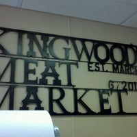 Foto scattata a Kingwood Meat Market da Valerie H. il 3/31/2012