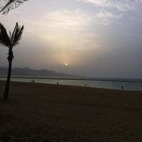 Photo taken at Playa Grande by Josu T. on 3/22/2012