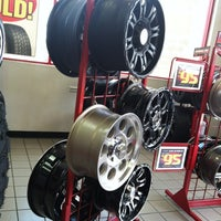 Photo taken at Discount Tire® Store by Alan F. on 5/30/2012