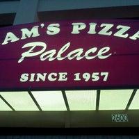 Photo taken at Sam's Pizza Palace by Celeste F. on 6/10/2012