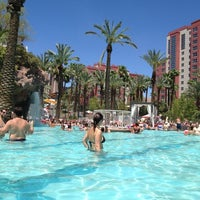 Photo taken at Flamingo GO Pool by Kimmy S. on 7/27/2012