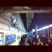 Photo taken at MTA Subway - 68th St/Hunter College (6) by Ian O. on 2/6/2012