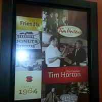 Photo taken at Tim Hortons by Adam P. on 9/3/2012
