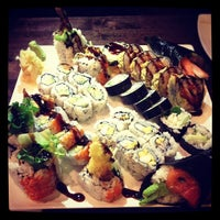 Photo taken at River Japanese Cuisine by Stephanie C. on 2/10/2012