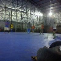 Photo taken at Diamond Futsal by Andika Cindy M. on 5/16/2012