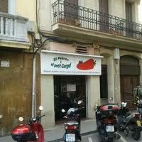 Foto tomada en El Pebrot i el Petit Cargol por Josep P. el 4/14/2012