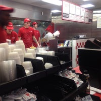 Photo taken at Five Guys by Alex G. on 10/23/2011