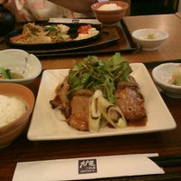 Photo taken at OOTOYA (โอโตยะ) 大戸屋 by Thanathan S. on 1/7/2012