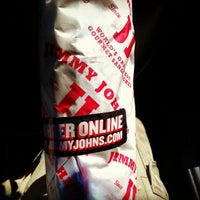 Photo taken at Jimmy John's by Justin W. on 4/6/2012