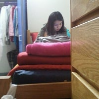 Photo taken at NYU Founders Residence Hall by Lauren L. on 9/10/2011