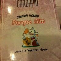 Photo taken at Porque Sim - Yakitori House by Paulo N. on 9/29/2011