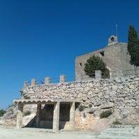 Photo taken at Ermita de Sant Pau by Miquel B. on 10/3/2011