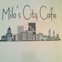 Photo taken at Milo's City Cafe by mousepaws on 8/16/2011