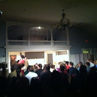 Photo taken at Half Light Theatre @ Roberson Mansion by Nathan B. on 3/24/2012