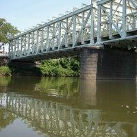 Photo taken at Falls Bridge by Laurence M. on 6/10/2012