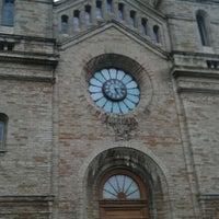Photo taken at Kaarli kirik by Erki P. on 10/3/2011