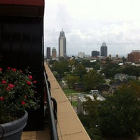 Photo taken at Rooftop Terrace @ Ryan Park Tower by Allie L. on 8/31/2012