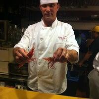 Photo taken at Hama Sushi by Mia K. on 7/26/2011