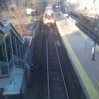 Photo taken at Metro North - Hawthorne Train Station by Luis R. on 1/15/2012