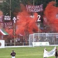 Photo taken at Estádio Conde Rodolfo Crespi by Robson Eduardo C. on 7/28/2012