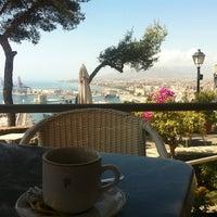 Photo taken at Hotel Parador de Málaga Gibralfaro by Juan S. on 9/1/2012