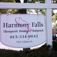 Photo taken at Harmony Falls, A Therapeutic Oasis by K. K. on 9/23/2011