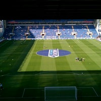 Photo taken at Ewood Park by Lee G. on 10/1/2011