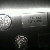 Photo taken at 25th Floor by Sallie-Anne C. on 8/30/2011