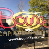 Photo taken at Bounce Trampoline Sports by David B. on 4/14/2012