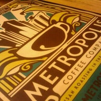 Photo taken at Metropolis Coffee Company by Christina on 5/30/2011