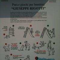 Photo taken at Parco Giochi Giuseppe Rigotti by Riccardo P. on 4/25/2011