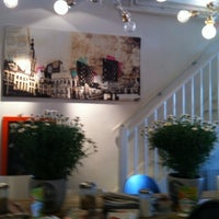Photo taken at Inspire Coffee Company by Esther G. on 5/14/2011