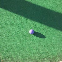 Photo taken at Fenway Golf by Sara S. on 10/11/2011