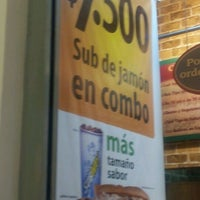 Photo taken at Subway by CrisFe A. on 10/8/2011