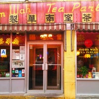 Photo taken at Nom Wah Tea Parlor by Brigitte P. on 10/28/2011