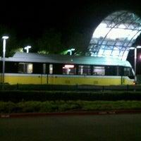 Photo taken at Parker Road Station (DART Rail) by Korey F. on 8/19/2011