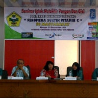 Photo taken at Institut Teknologi Padang by Mandan S. on 12/25/2011