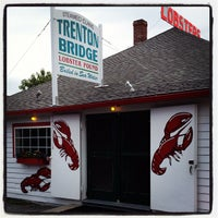 Photo taken at Trenton Bridge Lobster Pound by Josh C. on 6/21/2012