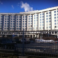 Photo taken at Radisson Slavyanskaya by Anna Z. on 3/20/2012