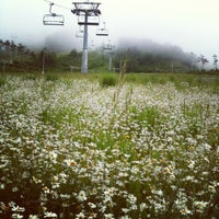 Photo taken at Alpensia Resort Ski Area by Sunhwa H. on 6/27/2012