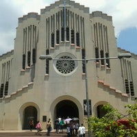 Photo taken at National Shrine of Our Mother of Perpetual Help (Redemptorist Church) by Nora A. on 4/5/2012