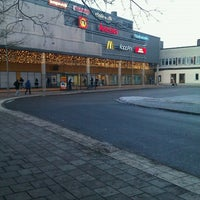 Photo taken at Farsta Busstorg (B) by Brommabo on 12/22/2011